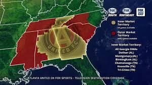 Utd Map New Mls Club Atlanta United Fc Finds Rsn Home With Fox Sports