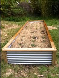 corrugated iron planter box copied from gumtree com au garden