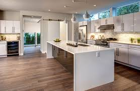 Kitchen Island Contemporary - beautiful waterfall kitchen islands countertop designs