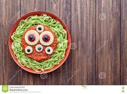 green spaghetti creative pasta scary halloween food vampire