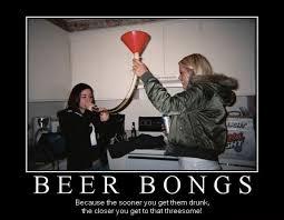 Beer Bong Meme - beer bong beer threesome lolvirgin house of humor