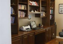 Built In Office Desk Custom Home Office Cabinets And Built In Desks