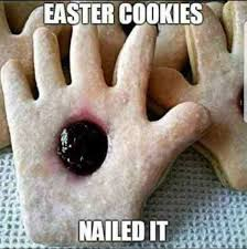 easter cookies nailed it meme xyz