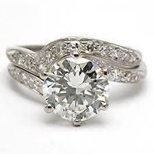 vintage estate engagement rings vintage estate engagement ring bridal set solid plat