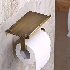 Wall Mounted Bathroom Accessories Amazon Com Leyden Tm Creative Multifunction Antique Brass Toilet