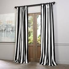 Black And White Stripe Curtains Black Stripe Curtain Harian Metro