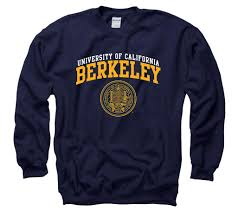 berkeley sweater uc berkeley arch s crewneck sweatshirt navy shop