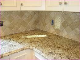 Travertine Subway Tile Backsplash Popular Travertine Kitchen - Backsplash travertine tile
