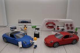 porsche playmobil modèles réduits porsche playmobil coupé rouge targa bleu