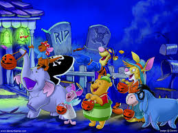 animated halloween backgrounds funny pooh halloween wallpaper