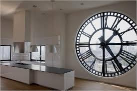 horloge de cuisine design horloge murale originale design trendy horloge murale