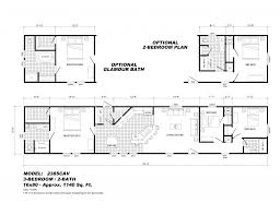 Single Wide Mobile Homes Floor Plans Open Floor Plans Mobile Homes
