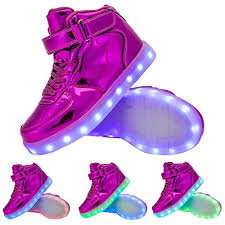 high top light up shoes tutuyu kids 11 colors led light up shoes high top fashion flashing