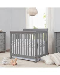 Convertible Mini Crib Spectacular Deal On Davinci Kalani 2 In 1 Convertible Mini Crib Grey