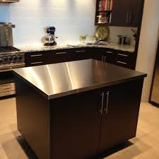 Kitchen Table With Stainless Steel Top - table tops u2013 custom metal home