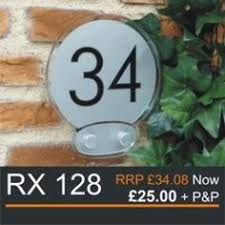 glass door number signs door number stunning glass acrylic house number signs signs