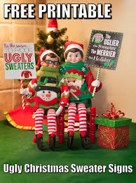 december 18th national ugly christmas sweater day elves