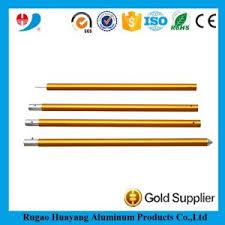 Aluminum Curtain Rod Extendable Gold Anodized Corrugated Aluminum Curtain Rods