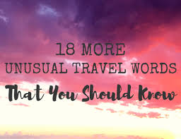 define traveling images 24 unusual travel words you should know migrating miss png