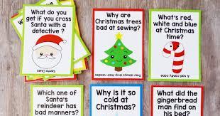 free printable christmas lunch box jokes artsy fartsy mama