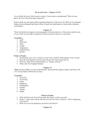 the scarlet letter u2013 chapters 21 24