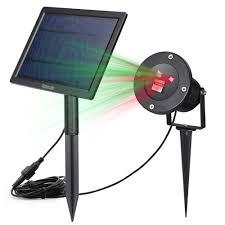 Red Solar Lights by Star Projector Homecube Outdoor Star Laser Light Solar Garden