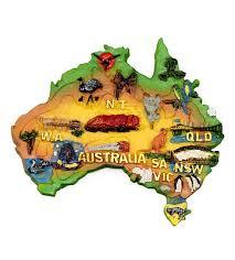 austrial map australia map magnet australia the gift australia the gift