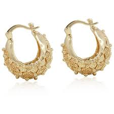 gold earrings for women images gold hoop earrings for women
