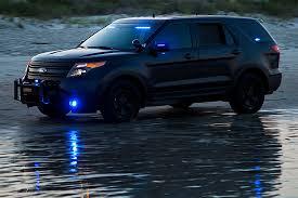 low profile vehicle led mini strobe light built in