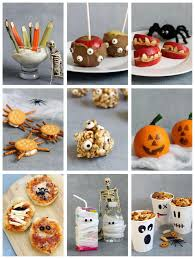 healthy halloween ideas fun food for halloween or classroom parties