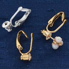 how to convert clip on earrings to pierced clip on earrings converter 6 pair zoom zoom design