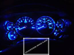 Led Cluster Lights 2010 Chevrolet Silverado Sierra Cluster Led Mod All Blue Back