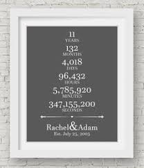 11 year anniversary gift ideas for him 11th wedding anniversary cotton print 11th wedding gift 11