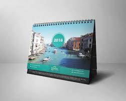 Desk Calendar Design Ideas Desk Calendar 2018 By Graphicstar10 Graphicriver