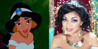 8 Makeup Tutorials That Will Transform Your Face For Halloween by How To Do Princess Jasmine U0027s Makeup Aladdin Makeup And Costume