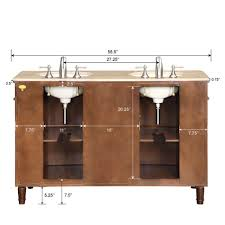 55 Bathroom Vanity 55 Perfecta Pa 151 Sink Cabinet Bathroom Vanity Hyp 0222