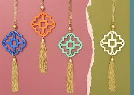 tassel pendant necklace images Zenzii modern mosaic tassel pendant necklace n1599 npnk neon pink jpg