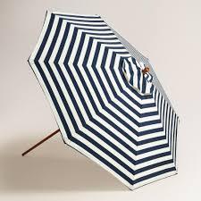 World Market Patio Umbrellas by Cafe Stripe 9 Ft Umbrella Canopy World Market
