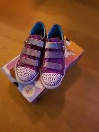 skechers womens light up shoes skechers twinkle toes purple glitter light up shoes uk size