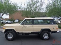 chief jeep color jeep cherokee chief 4x4 automatic