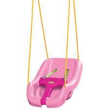 Pink Swinging Baby Chair 2 In 1 Snug U0027n Secure Swing Pink At Little Tikes