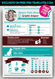 Free Resume Templates Free Download 25 Modern And Wonderful Psd Resume Templates Free Download