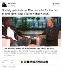 Ellen Meme - ellen degeneres defends herself after the usain bolt meme backlash