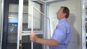 patio doors remove patio screen door without v track how to
