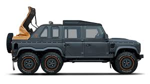 land rover defender lifted kahn design u0027s chelsea truck company is building a soft top land