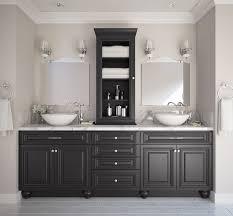 roosevelt black bathroom vanities all home cabinetry