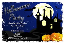 party invitations halloween party invitatons template design