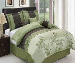 Palm Tree Bedspread Sets 7 U2013 Pc Pasadena Sage Comforter Set Egyptian Cotton Sheets The