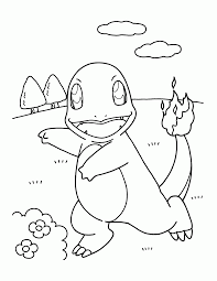science pokemon coloring pages charmander coloring widetheme