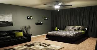 chambre noir et vert décoration petit studio en 60 idées magnifiques